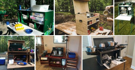 DIY Camp Kitchen Ideas