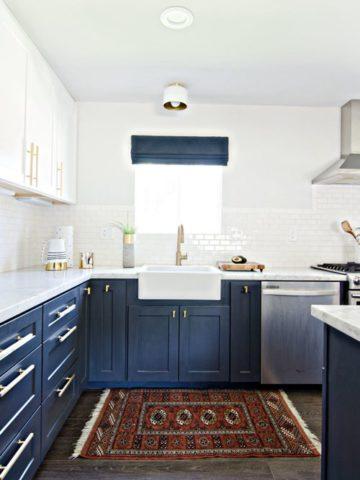 Fabulous Two Tone Kitchen Cabinet Ideas