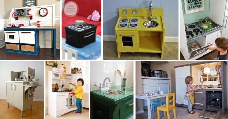 Phenomenal DIY Play Kitchen Ideas