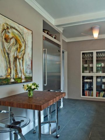 SMALLS EAT-IN KITCHEN IDEAS AND SPACE-SAVING SOLUTION