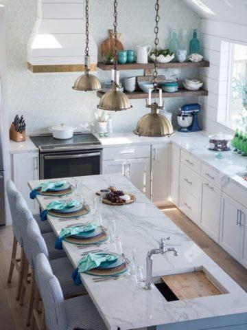 Wondrous Coastal Kitchen Ideas