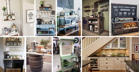 best Kitchen Coffeea Bar Ideas