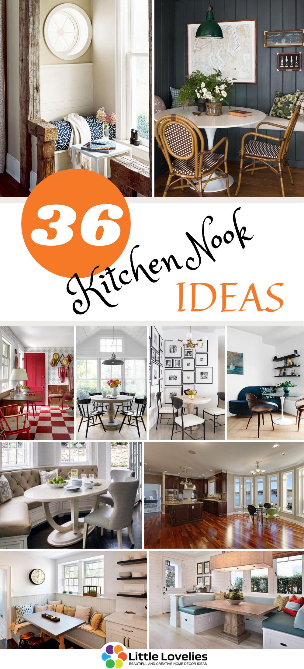 best Kitchen Nook Ideas