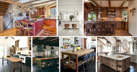 best-Rustic Kitchen Island Ideas