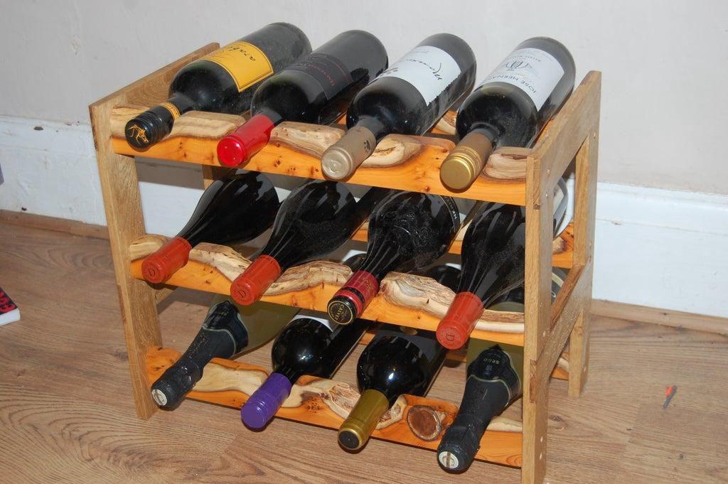 1. 3 Tier Wine Rack