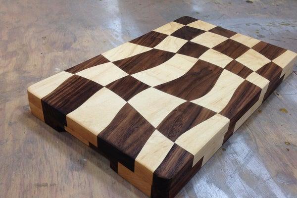 1. DIY Drunken Cutting Board