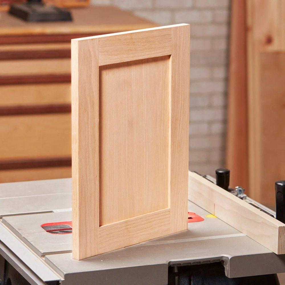 1. DIY Shaker Cabinet Door