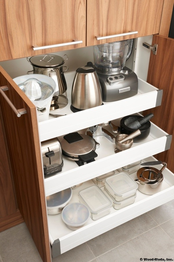 1. Pull Out Appliance Storage
