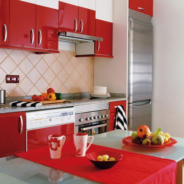 1. Red Kitchen Decor