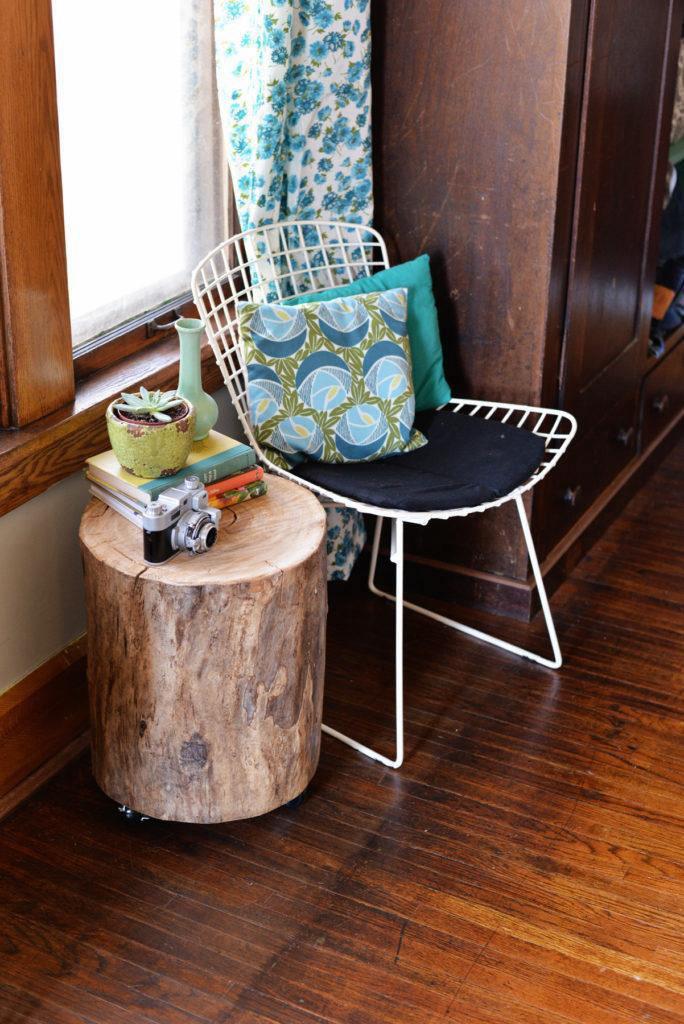 1. Tree Stump Tables
