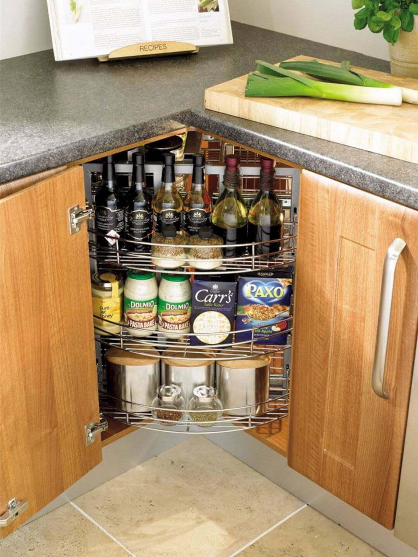 1. Under Cabinet Kitchen Storage