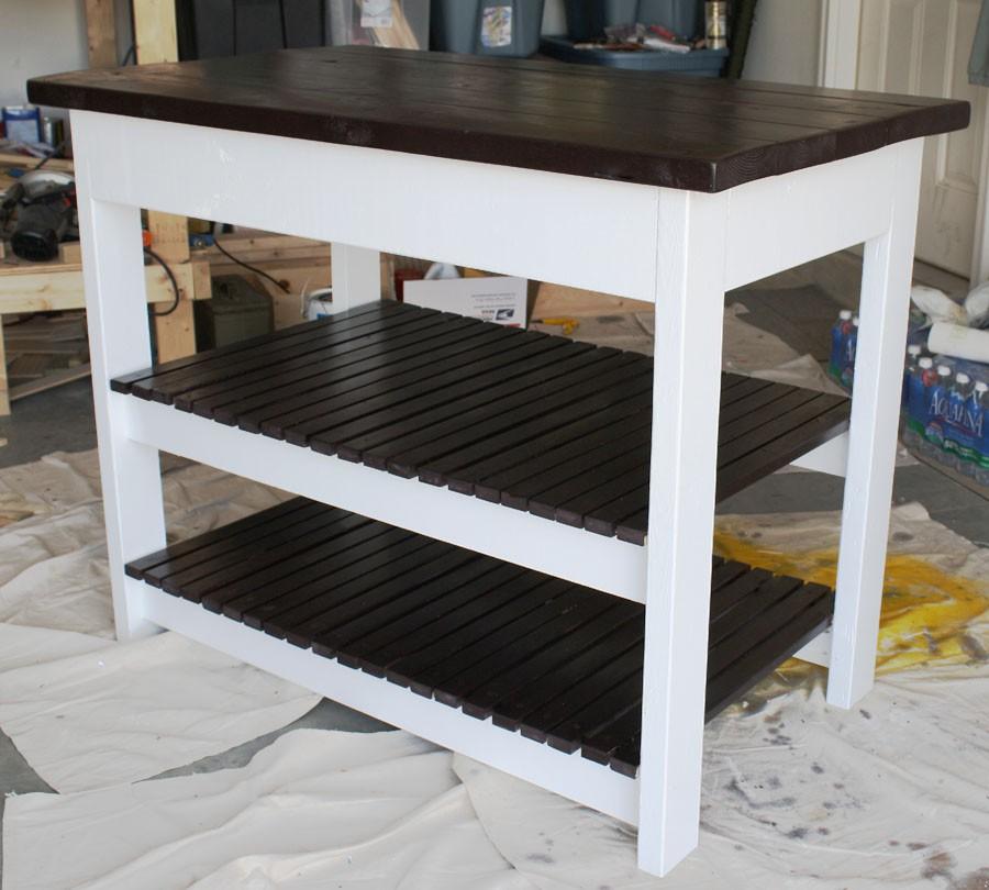 10. Amazing Coffee Bar Kitchen Cart