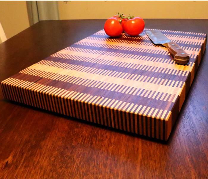 10. DIY 1000 Piece Cutting Board