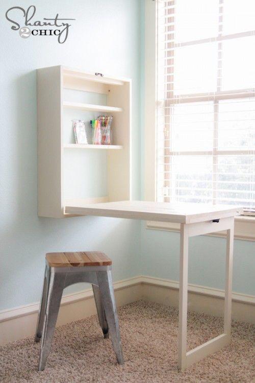 10. DIY Murphy Desk