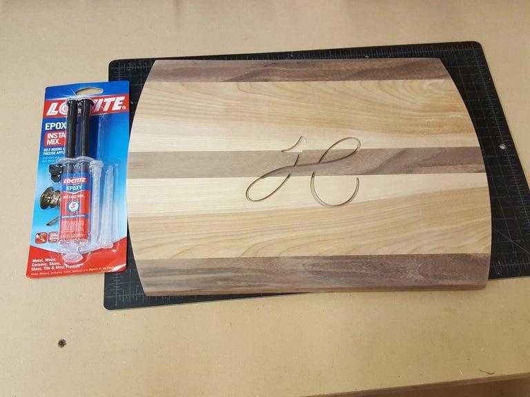 11. DIY Engraved Cutting Board