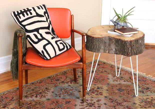 11. DIY Rustic End Table