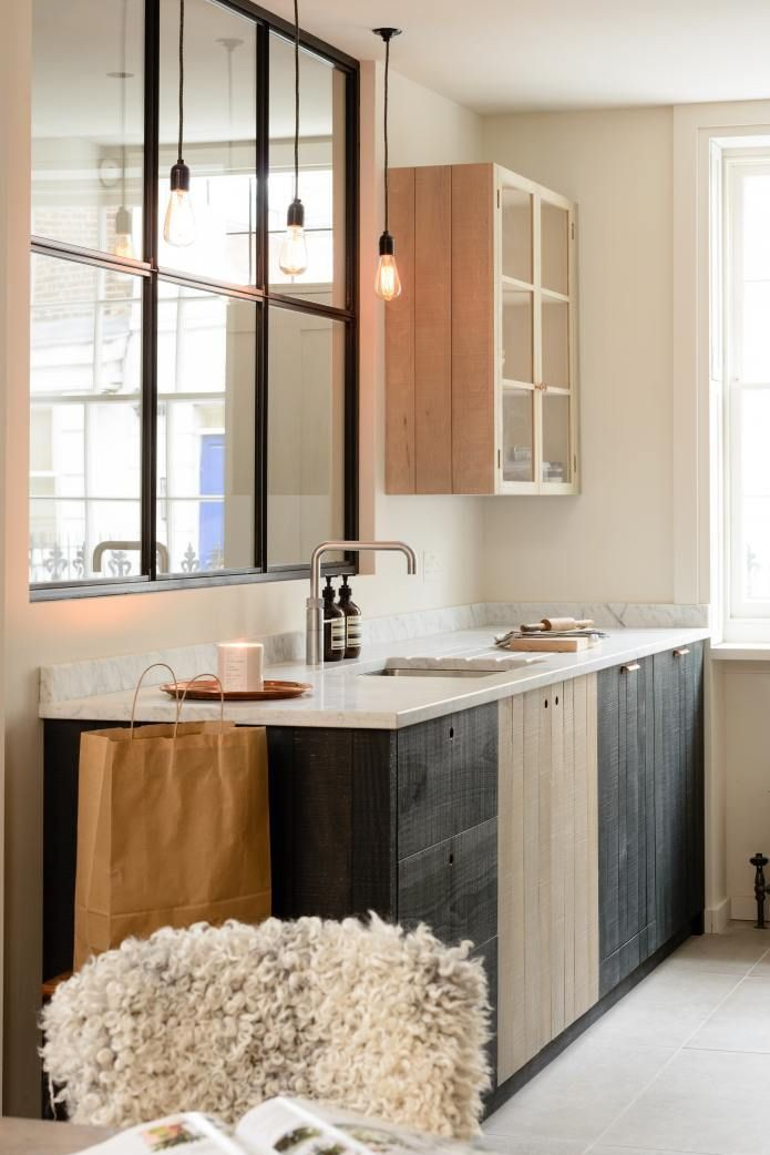12. Black And Brown Cabinets
