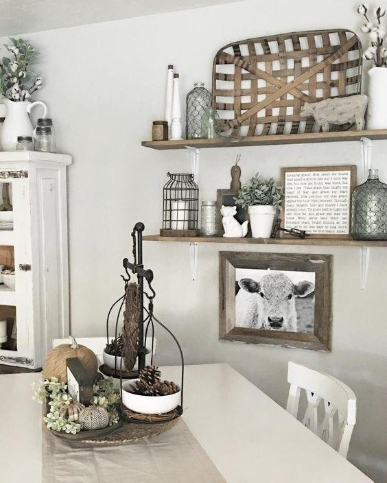 12. Cow Kitchen Decor Idea