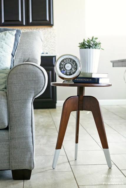 13. DIY 3-Leg End Table