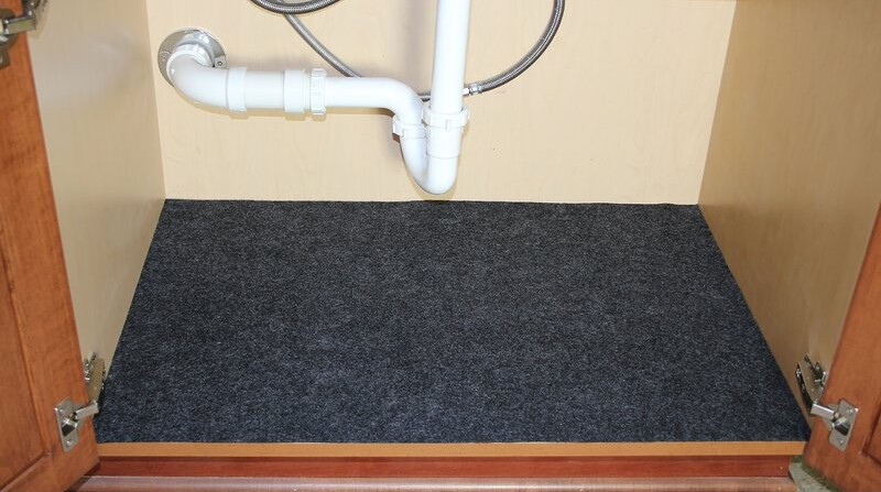 14. Under Kitchen Sink Storage Mat