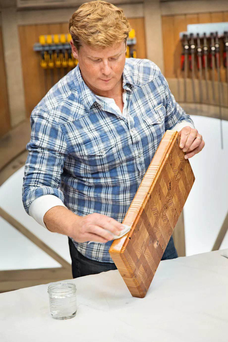 15. DIY End-Grain Cutting Board