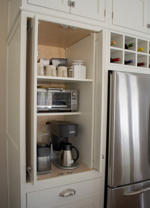 15. Dedicated Cabinet For Appliances
