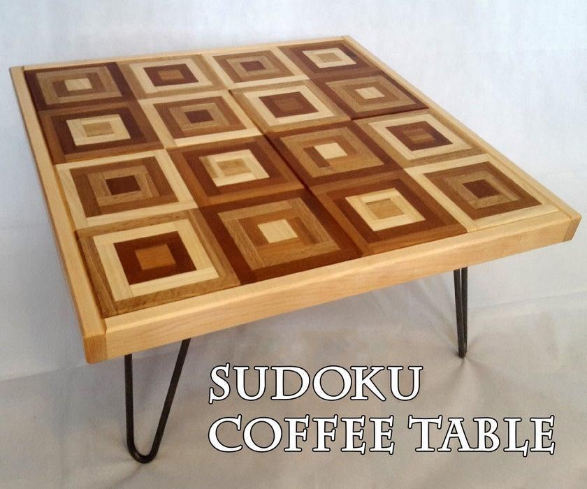 15. Sudoku Coffee Table DIY
