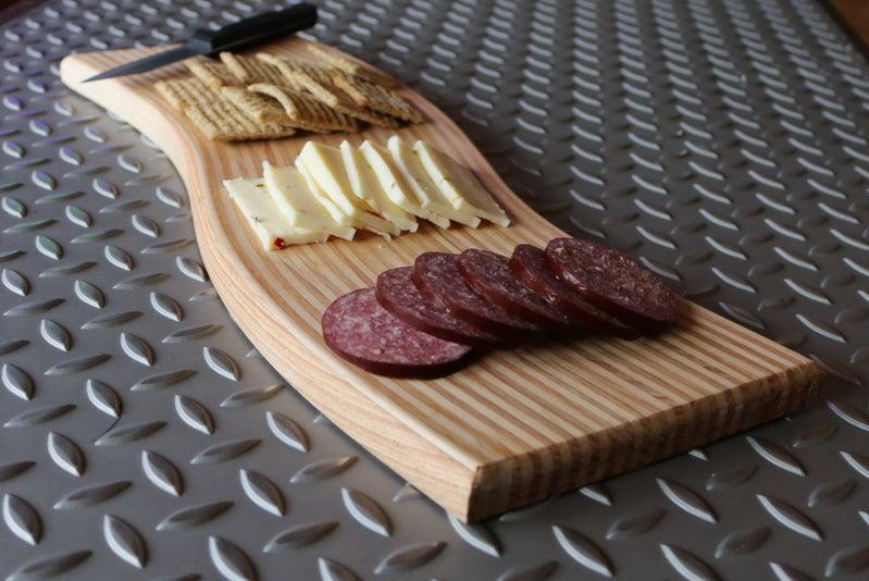 16. DIY Curved Cutting Board