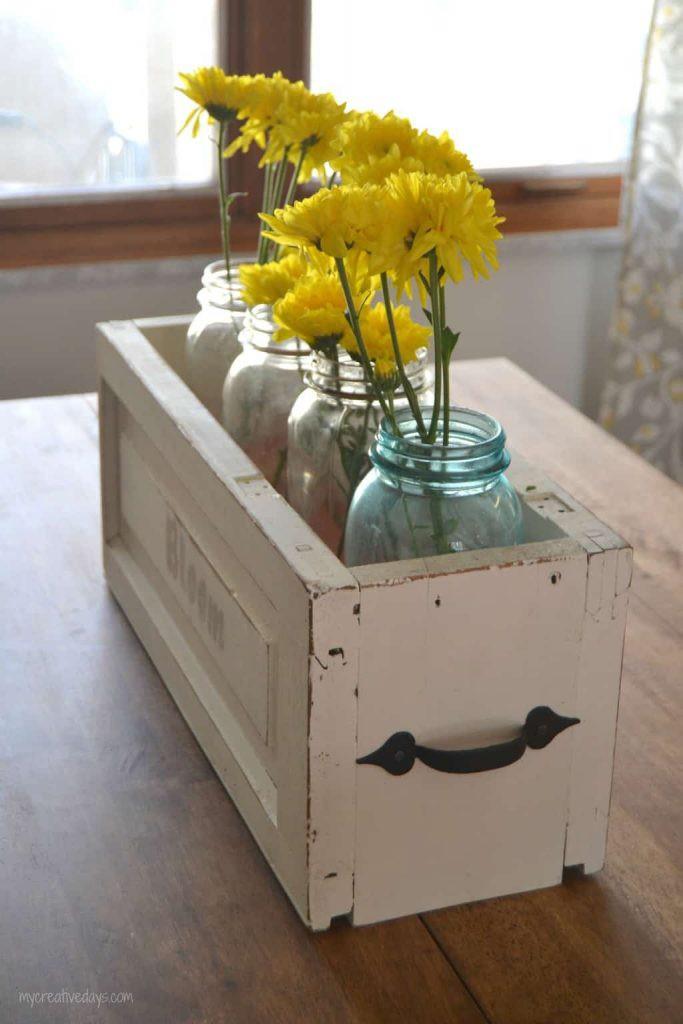 16. DIY Mason Jar Caddy