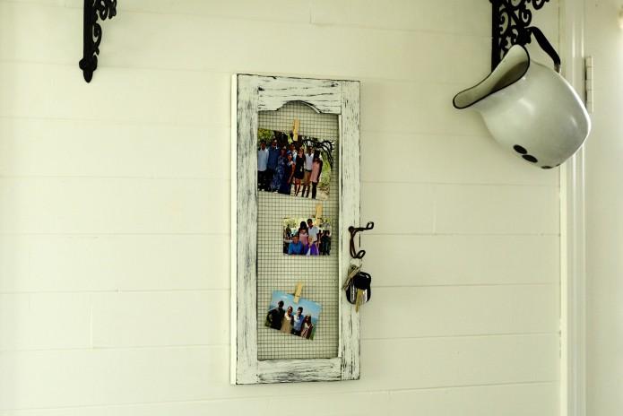 17. DIY Cabinet Door Magnet Board