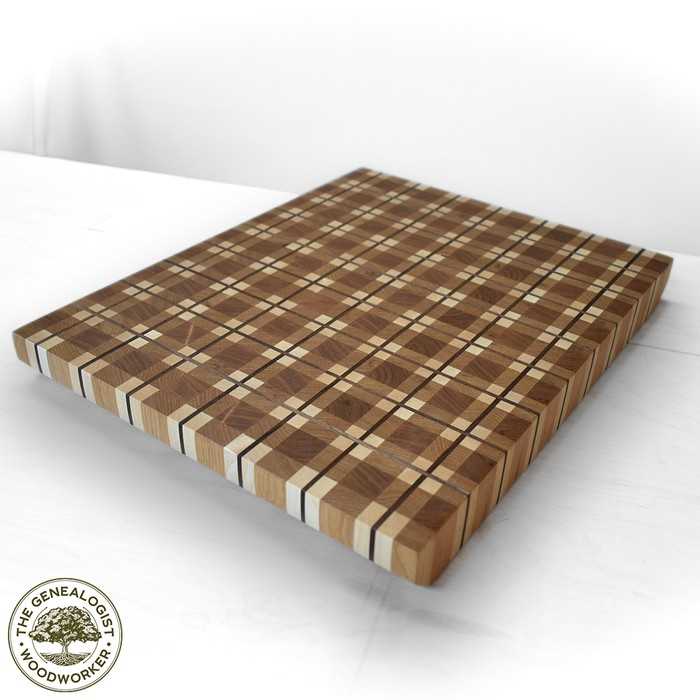 17. DIY Plaid Cutting Board