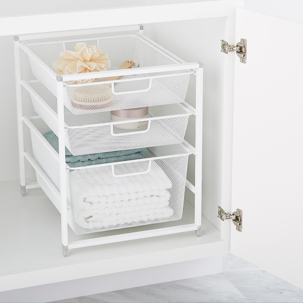 17. Mesh Drawer For Under Kitchen Sink Storage