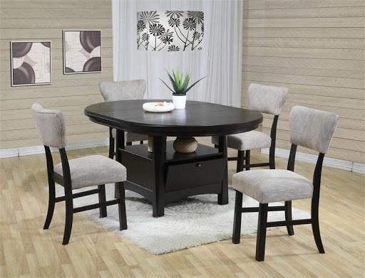 17. Round Kitchen Table With Storage