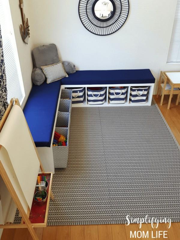 18. Blue Foam Vs White Walls