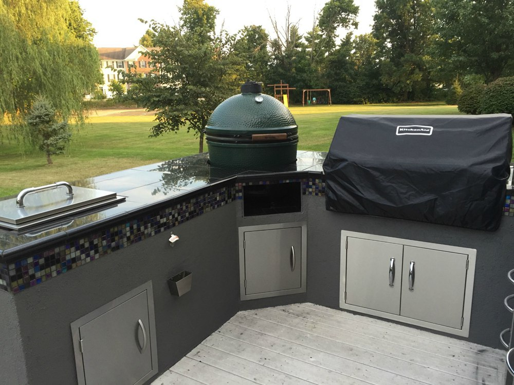 19. Amazing Outdoor Kitchen Built By Novice