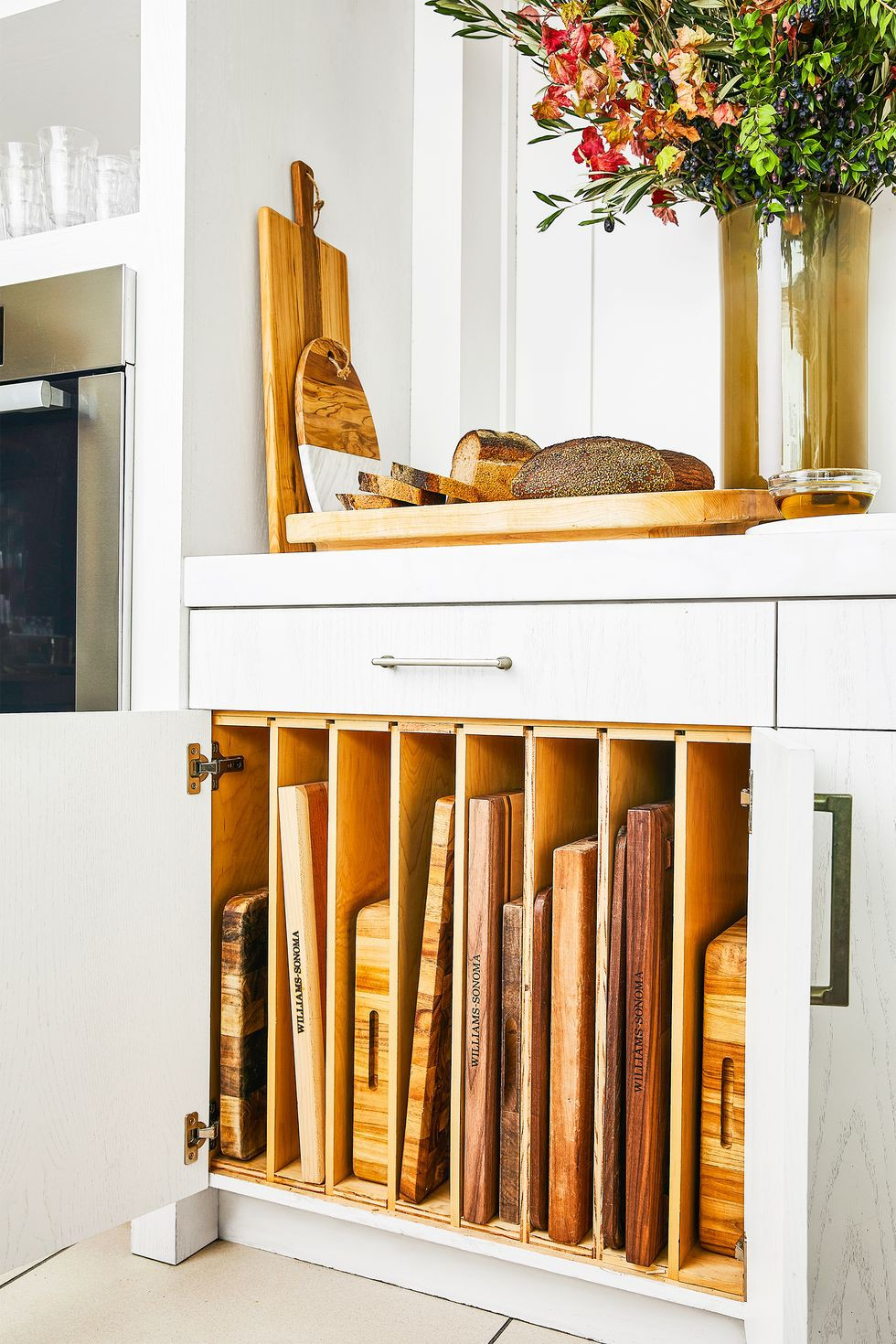 19. Cabinet Dividers For Chopping boards