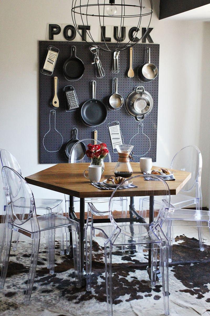 19. DIY Honeycomb Table