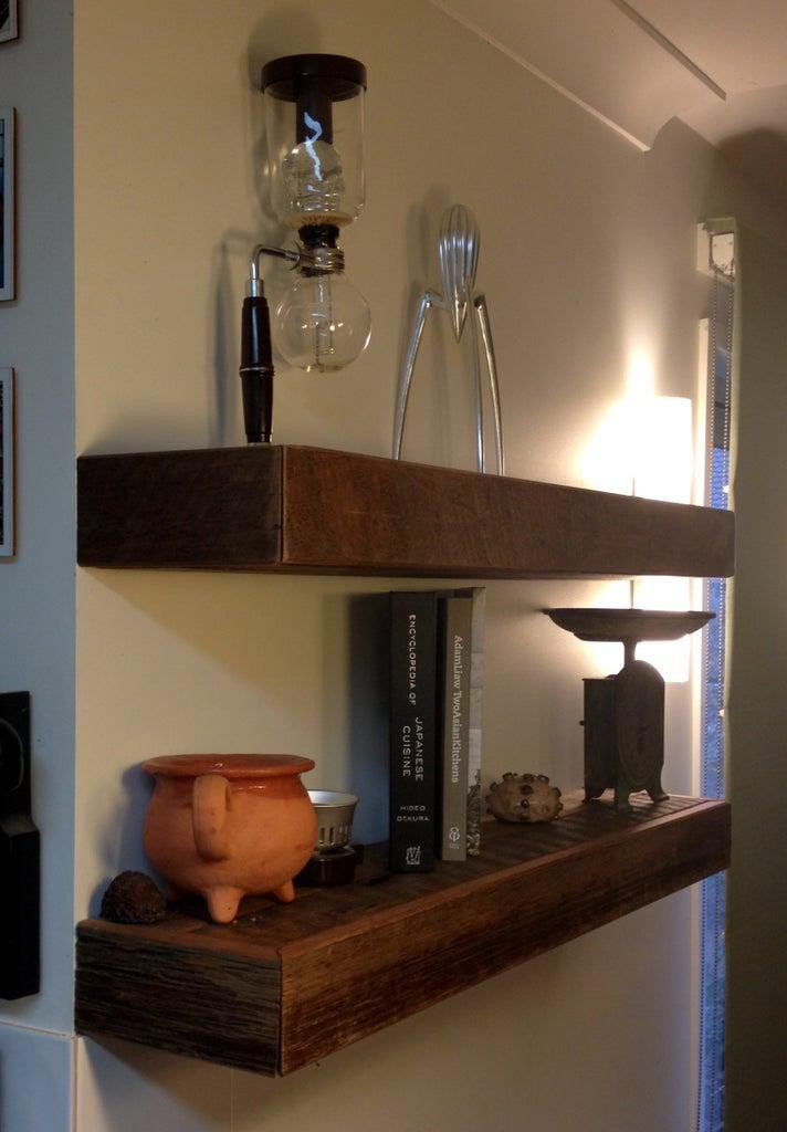 19. Low-Budget Kitchen Shelves