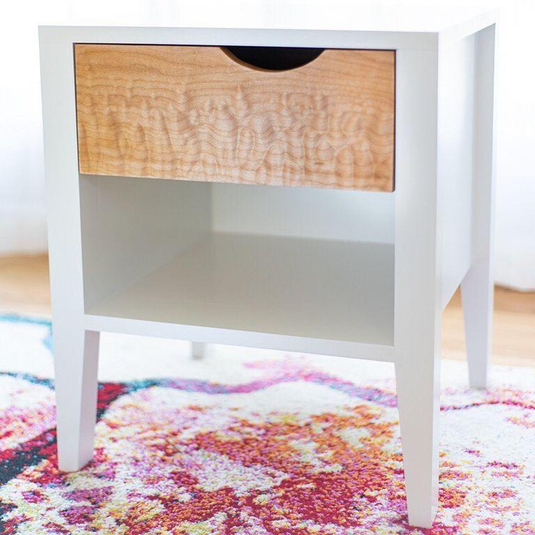 19. Minimalist End Table DIY