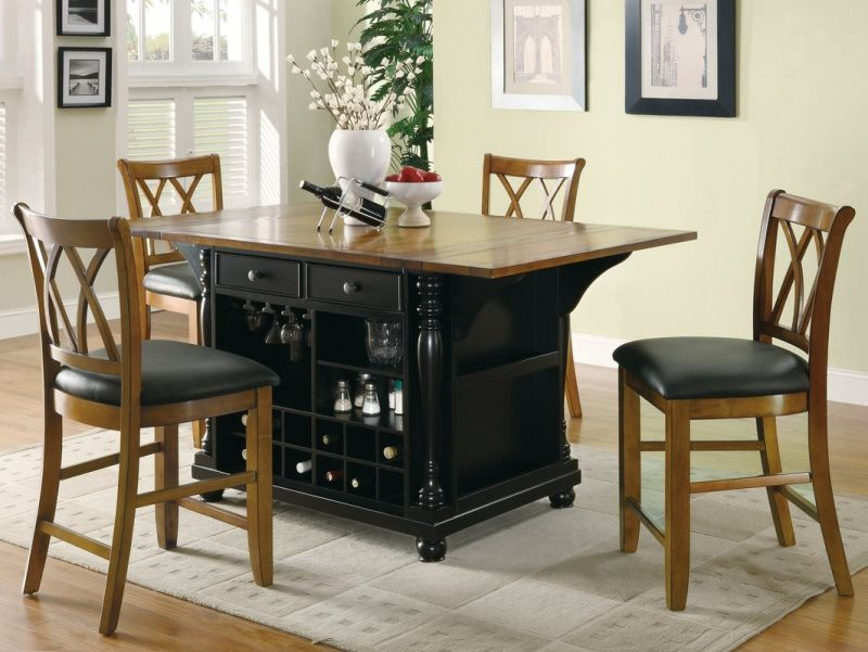 19. Solid Wood Kitchen Table