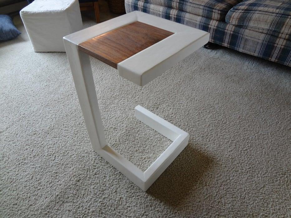 2. DIY 2X4 End Table