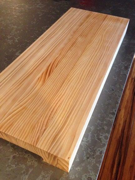 2. DIY Simple Cutting Board