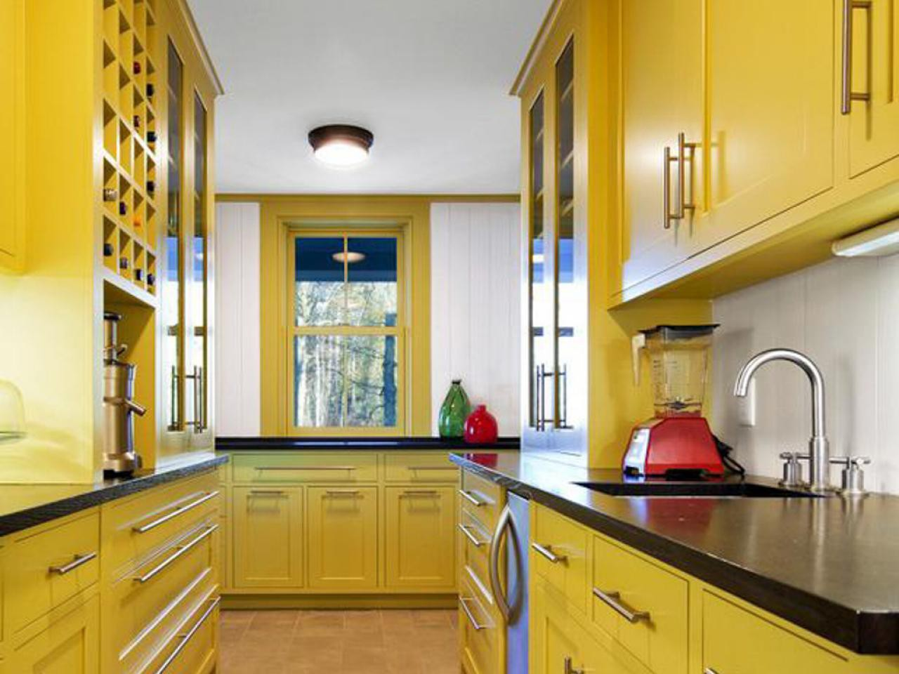 20. Completely Yellow Kitchen