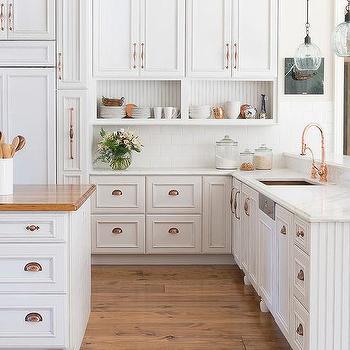 20. Copper Kitchen Cabinet