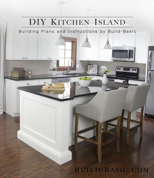 20. Deluxe DIY Kitchen Island