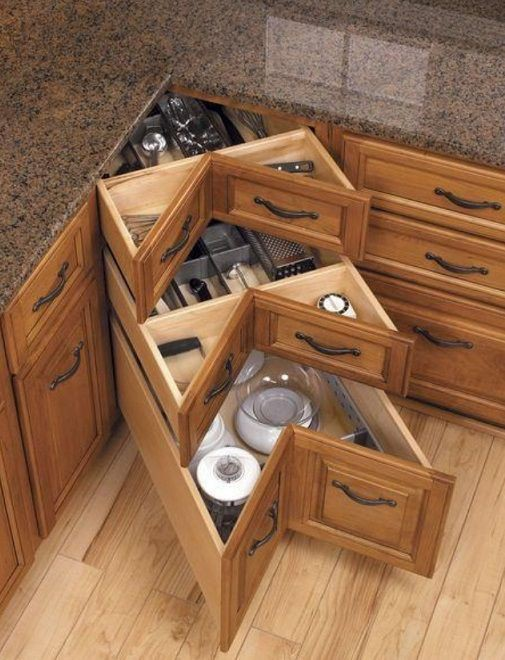 20. Drawers That Fit In Corners