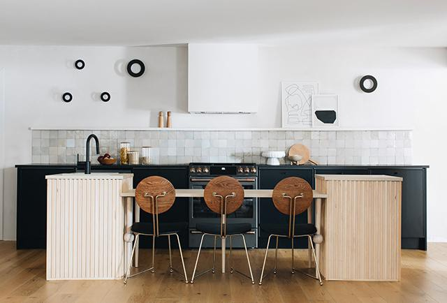 20. Minimalistic Kitchen Island Design