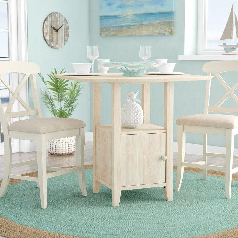 20. Parawood Kitchen Table With Storage