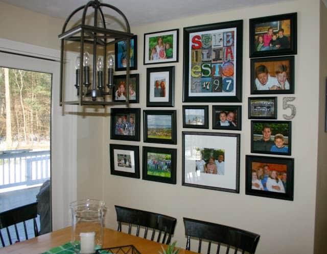 20. Repurpose Cabinet Doors Into Picture Frames
