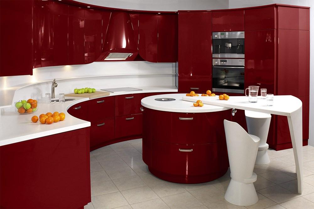 20. Stylish Red Kitchen Decor